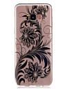 Capinha Para Samsung Galaxy S8 Plus S8 Transparente Estampada Capa Traseira Lace Impressao Flor Macia TPU para S8 S8 Plus S7 edge S7 S6