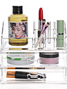 Cosmetic Box Others Makeup Storage Transparent Fashion Quadrate Plastics