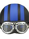 Meio Capacete ABS capacetes para motociclistas