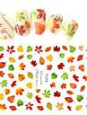 1pcs New Fashion Nail DIY Beauty Maple Leaf Design Decoration Nail Art 3D Sticker F204