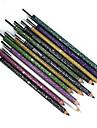 12 couleurs impermeables maquillage eyeliner crayon stylo a levres naturelles longue duree et taille-aiguisoirs