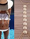 Femme Bijoux de Corps Chaine de ventre Chaine de Corps Collier de Ventre Mode Vintage Boheme Hip-Hop Fait a la main Turc bijoux de