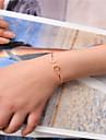 Femme Manchettes Bracelets - Mode Bracelet Or / Noir / Argent Pour Soiree / Occasion speciale / Cadeau