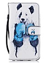For Huawei P8 lite 2017 Mate9 Card Holder Wallet with Stand Flip Pattern Case Full Body Case Panda Hard PU Leather for Honor 5C 7 8 Y5 II Y6 II Y560