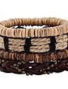 Муж. Жен. Кожа Кожаные браслеты - Мода Геометрической формы Цвет радуги Браслеты Назначение Свадьба Для вечеринок Спорт