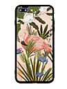 For iPhone 7 Plus 7 Case Cover Pattern Back Cover Case Flower Flamingo Hard Acrylic for iPhone 6s Plus 6 Plus 6s 6 5s 5 SE