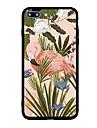 아이폰 7 플러스 7 케이스 커버 패턴 다시 커버 케이스 꽃 플라밍고 하드 아크릴 아이폰 6s 플러스 6 플러스 6s 6 5s 5 se