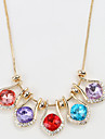 Women\'s Statement Necklaces Jewelry Jewelry Crystal Alloy Unique Design Fashion Euramerican Jewelry For Party Other Evening Party