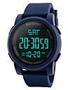 Men\'s Sport Watch Wrist watch Digital Watch Chinese Digital LCD Calendar Water Resistant / Water Proof Dual Time Zones Alarm Stopwatch