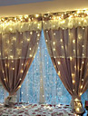 Halloween Christmas 0.5W String Lights Lighting 3*2m 240LED Warm White New Year