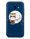 For Samsung Galaxy A3(2017)  A5(2017) Case Cover Owl Pattern Painted Embossed Feel TPU Soft Case Phone Case A3(2016)  A5(2016)