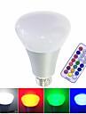 1pc 10 W 700 lm E26 / E27 Slimme LED-lampen 1 LED-kralen Geintegreerde LED Dimbaar / Op afstand bedienbaar / Decoratief RGB / RGBW / RGBWW 85-265 V / 1 stuks / RoHs