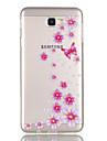 For Case Cover Transparent Pattern Back Cover Case Butterfly Flower Soft TPU for SamsungJ7 (2016) J7 Prime J5 (2016) J5 Prime J3 J3