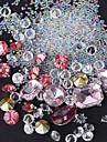 1 pcs Bijoux a ongles Glitters / Metallique / Mode Quotidien Nail Art Design