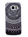 Coque Pour Samsung Galaxy S8 Plus S8 IMD Motif Coque Mandala Brillant Flexible TPU pour S8 Plus S8 S7 edge S7 S6 edge S6