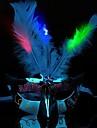1pcs conduit masque masquerade deguisement parti plume masques ramdon couleur