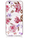 Case For Huawei P8 Lite (2017) P10 Lite Phone Case TPU Material IMD Process Roses Pattern HD Flash Powder Phone Case P9 Lite P8 Lite
