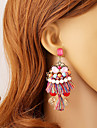 Women\'s Earring Back Drop Earrings Ball Earrings Unique Design Dangling Style Pendant Tassel Simple Style Costume Jewelry Resin Chrome