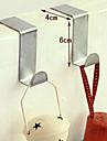 2 τεμάχια βολική από ανοξείδωτο χάλυβα πόρτα αγκύλη αποθήκευσης καθημερινή χρήση