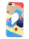 Pour Etuis coque Motif A Faire Soi-Meme Squishy Coque Arriere Coque Bande dessinee Flexible PUT pour AppleiPhone 7 Plus iPhone 7 iPhone 6