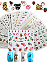 50 pcs 3D Nail Stickers Nail DIY Tools Full Nail Stickers nail art Manicure Pedicure 3D Fashion Daily