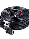VGA Cable, VGA to VGA Cable Male - Male 20.0m (60ft)