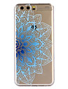 Case for Huawei P10 Plus P10 Cover Pattern Back Cover Case Blue Flower Soft TPU for P10 Lite  P9 P9 Lite P8 lite 2017 Y6II Y5II Mate9 Honor 5X