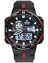Men\'s Sport Watch Fashion Watch Digital Water Resistant / Water Proof Stopwatch Rubber Band Black