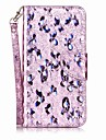 Case for Huawei Y5 II Y6 II Cover Card Holder Flip Pattern Full Body Case Butterfly Glitter Shine Hard PU Leather for Huawei Honor 7 8 5C Y3 II Nova