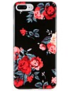 Case   for Apple iPhone 7 Plus iPhone 7 Cover Pattern Squishy Back Cover Case Flower TPU for iPhone 6s Plus iPhone 6 Plus iPhone 6s