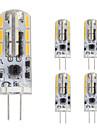 1.5W G4 Luminarias de LED  Duplo-Pin T 24 leds SMD 4014 Branco Quente Branco Frio 120lm 2800-3500;5000-6500