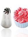 Bakeware verktyg Rostfritt Stål + A Klass ABS Vardagsanvändning Cake Moulds 1st