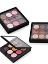HappyMakeup 9 colors Eyeshadow Palette Matte Shimmer Eyeshadow palette Daily Makeup Halloween Makeup Party Makeup Smokey Makeup