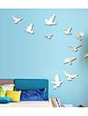 Animais 3D Adesivos de Parede Autocolantes de Avioes para Parede Autocolantes de Parede Decorativos 3D,Acrilico Decoracao para casa