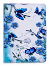 Case For Apple iPad Mini 4 iPad Mini 3/2/1 iPad 4/3/2 iPad Air 2 iPad Air Flip Full Body Cases Butterfly Flower Hard PU Leather for iPad