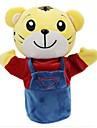 Stuffed Toys Bonecas Fantoche de Dedo Brinquedo Educativo Brinquedos Rabbit Urso Tiger Animais Pano de Algodao Crianca Pecas