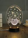 1 set, casa popular acrilica 3d luz noturna levou lampada de mesa usb mood lamp presentes, alegre
