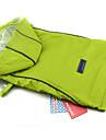 Cachorro Capa de Chuva Roupas para Caes Casual Solido Roxo Verde Azul Rosa claro