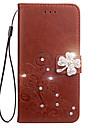케이스 삼성 갤럭시 j7 j5 케이스 커버 카드 홀더 지갑 라인 석 스탠드 플립 양각 된 전신 케이스 꽃 하드 우레탄 j3 j2 j1 가죽