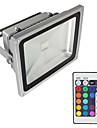 20W Focos de LED Impermeavel Decorativa Residencial Uso Diario Lar/Escritorio Iluminacao Externa RGB