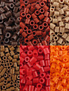 Approx 500P/Bag 5MM Fuse Beads Hama Beads DIY Jigsaw EVA
