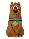 Nouveau chien de bande dessinee usb2.0 8gb flash drive u memory memory stick