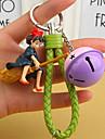 Saco / telefone / chaveiro charme diy jingle bell resina artefatos artesanato brinquedo telefone correia resina nylon metal anime
