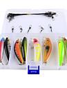 "23 pcs Kits de Pesca Vairao g/Onca mm/2-3/4"" polegadaPesca de Mar Isco de Arremesso Pesca no Gelo Rotacao Pesca de Gancho Pesca de Agua"