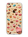 Case for iPhone 7 Plus 7 Cover Transparent Pattern Back Cover Case Food Doughnut Soft TPU for Apple iPhone 6s plus 6 Plus 6s 6 SE 5s 5c 5 4s 4