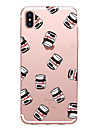 Case For Apple iPhone X iPhone 8 Transparent Pattern Back Cover Food Soft TPU for iPhone X iPhone 8 Plus iPhone 8 iPhone 7 Plus iPhone 7