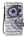 Кейс для Назначение SSamsung Galaxy J7 (2017) J3 (2017) Кошелек Бумажник для карт со стендом Флип Магнитный С узором Чехол Сова Твердый