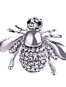 Crystal Brooches - Silver Plated, Gold Plated Bee, Animal Classic, Fashion Brooch Gold / Silver For Gift / Daily