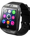 smartwatch q18 for android ios bluetooth hjertefrekvensmaaler vanntett idrett kalorier brent kamera timer pedometre vekkerklokke