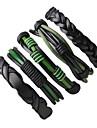 Homme Bracelets Bracelets en cuir Pierre Fait a la main Cuir Forme Ronde Bijoux Pour Plein Air Sortie